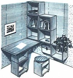 Шкаф из ящиков