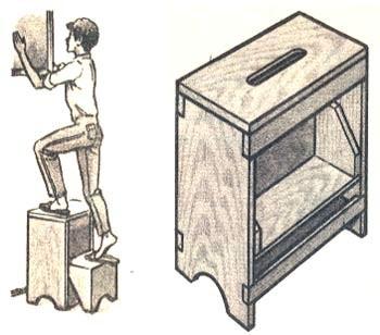 """Идеи домашнего мастера """" Архив Стул-стремянка Идеи домашнего мастера"""