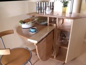 Кухонный раскладной стол своими руками