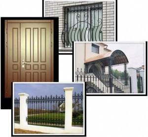Двери, как украшение фасада