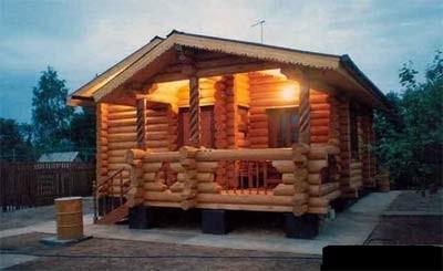 купить деревянную баню