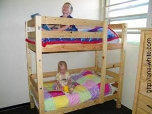 двухэтажная детская кровать фото