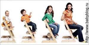 стул 6-месячному ребенку