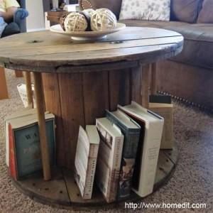 деревянная катушка