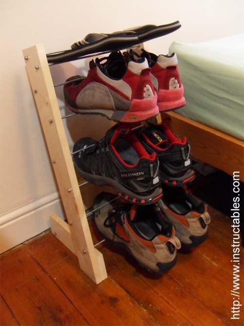 Подставка для обуви из дсп