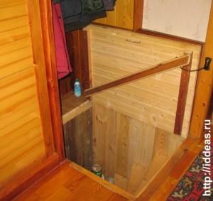 люк в подвал