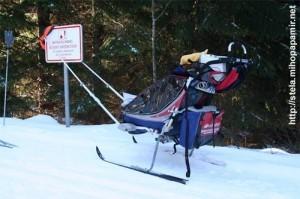 детская зимняя коляска