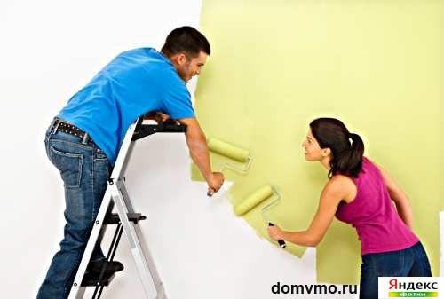 отделка гипсокартонных стен