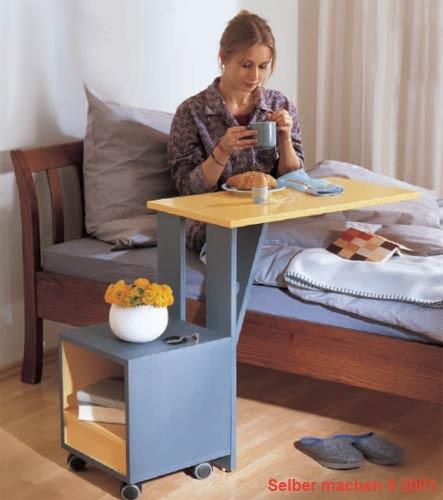 Прикроватный столик своими руками для больных 11