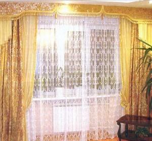 зимние шторы