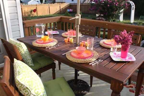 летняя садовая кухня