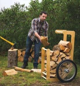 переноска дров