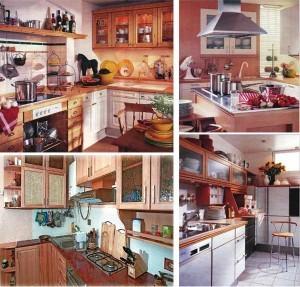 варианты оформления кухни
