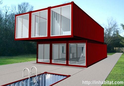 построить дом из контейнеров