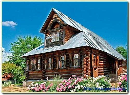 деревянный дом сказка