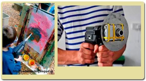 рука художника