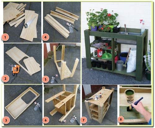 рабочий стол для садовода