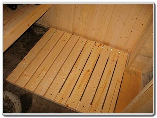 сделать деревянный настил