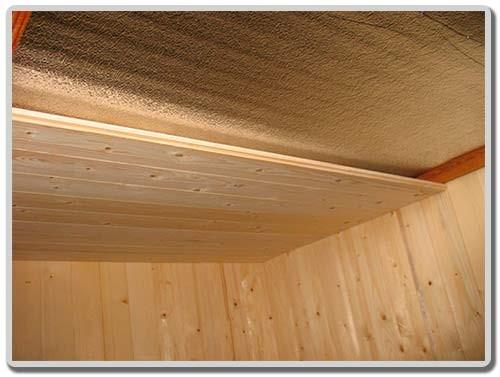 обшивка стен и потолка
