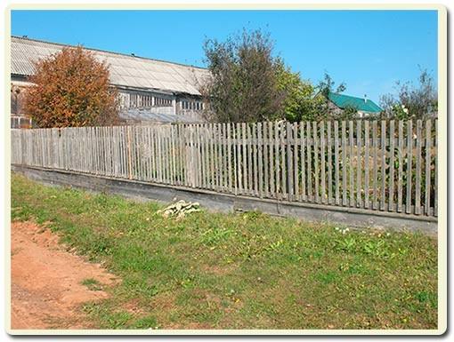ремонт деревянного забора