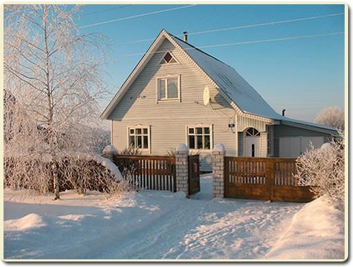 дом к зиме