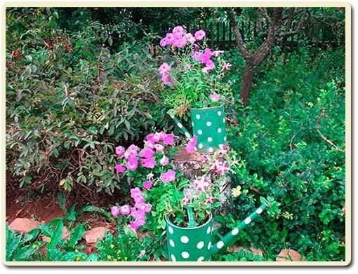 ухоженный сад