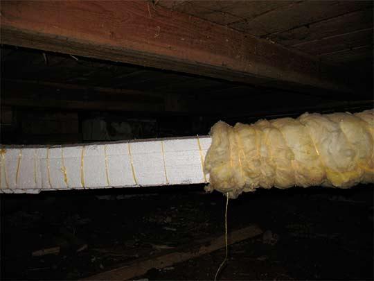 теплоизоляция труб системы отопления