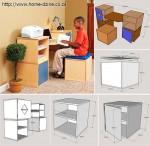 модульный детский стол