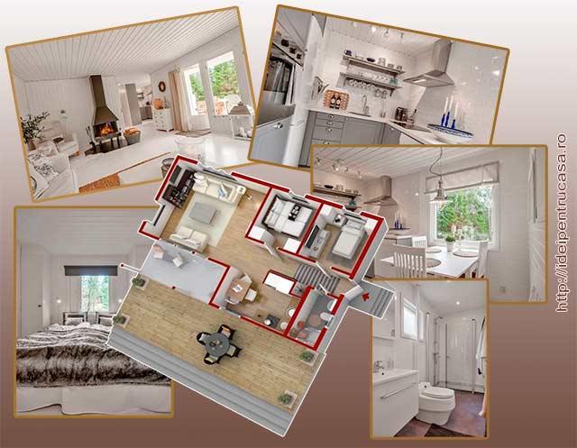 делению пространства внутри дома