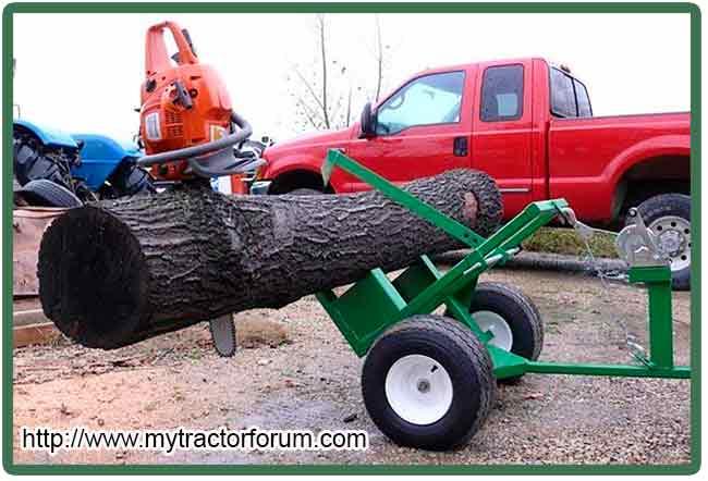 заготовки дров бензопилой