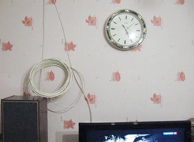 скрыть кабель