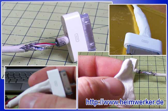 ремонт изоляции кабеля