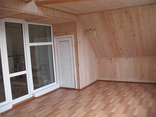 летняя комната