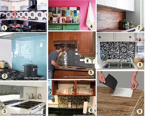 отделка кухонного фартука