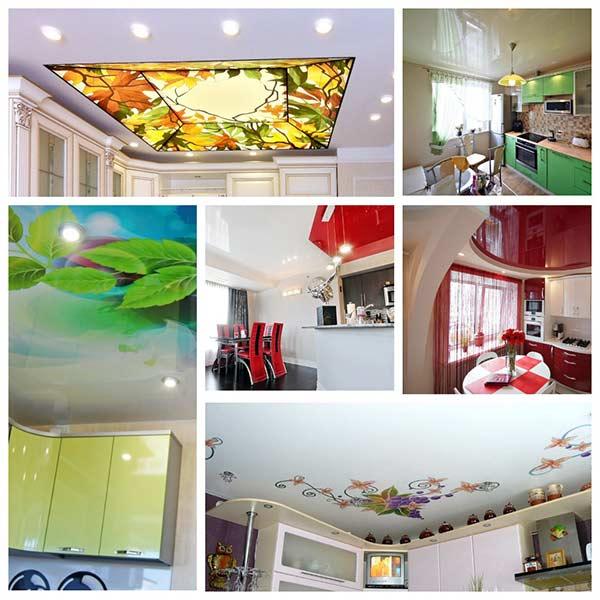 Натяжной потолок на кухне: отзывы специалистов и потребителей