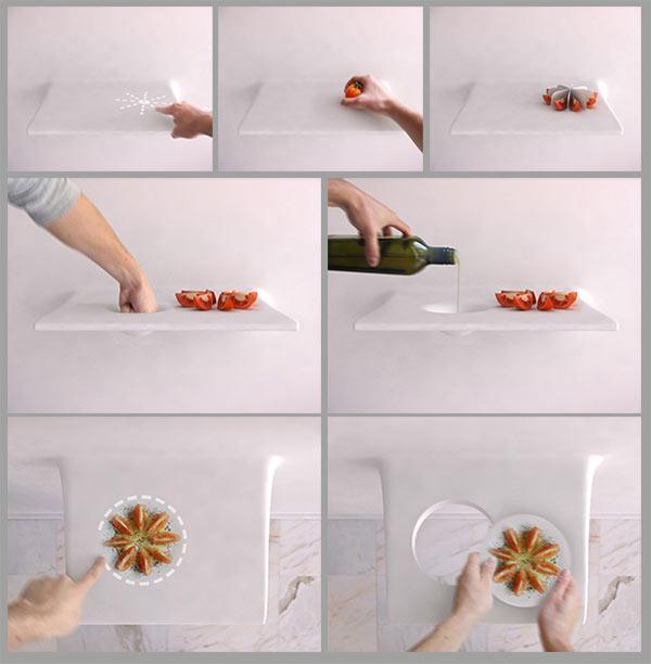 умная кухня из нанороботов