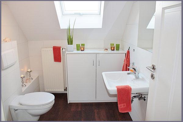 шкафы в ванной комнате