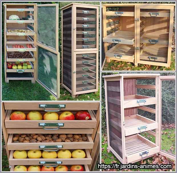 контейнеры для хранения овощей и фруктов