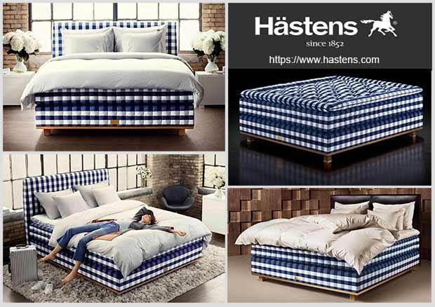 кровать Hastens Vividus