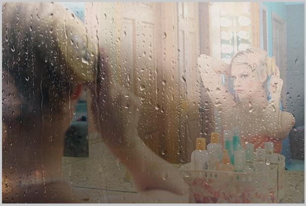 запотело зеркало в ванной