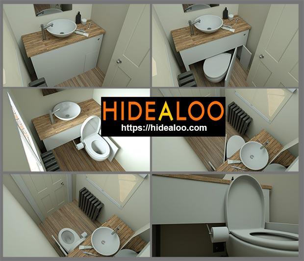 Выдвижной туалет Hidealoo