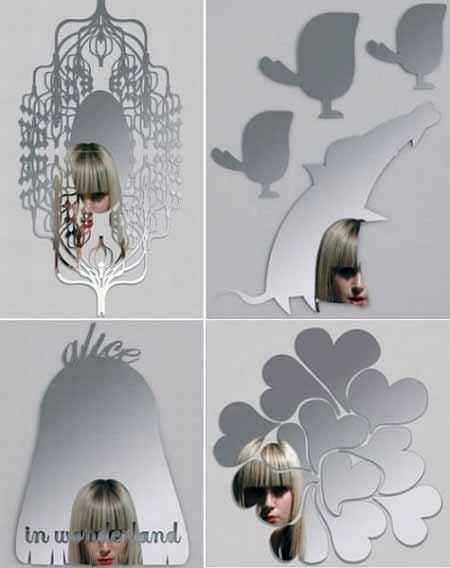 зеркала нетрадиционной формы