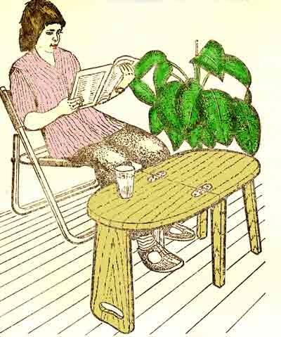 стол превращается в стул