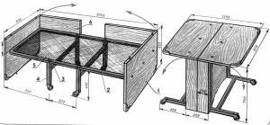 Столы-трансформеры