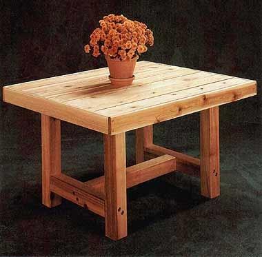 дачный стол своими руками