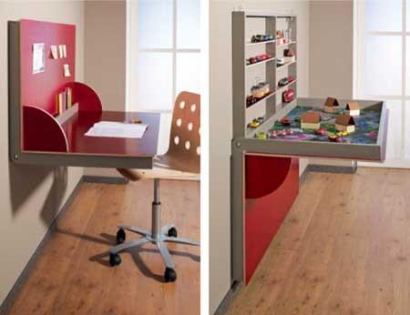 рабочий и игровой стол - два в одном