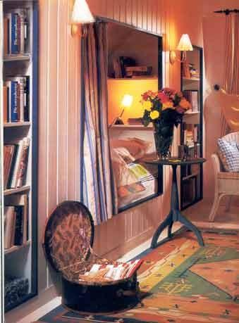 комната с альковом