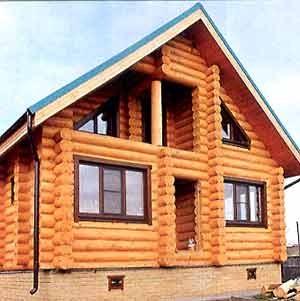 установка окон в деревянный дом