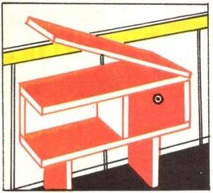 Столик для балкона