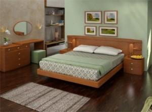 В уютной квартире – уютная кровать
